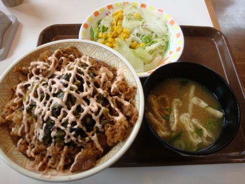 高菜マヨネーズ丼