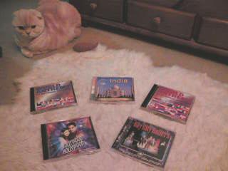 CDとねこです。