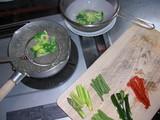 温野菜の過熱