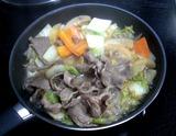 ラム肉鍋 (2)