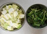 白菜と小松菜