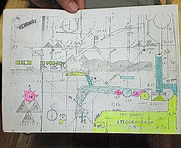 財宝地図フィリピン
