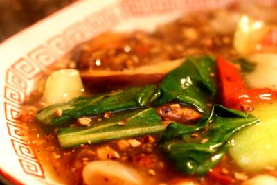 豆腐そぼろを使った中華風野菜いためあんかけ