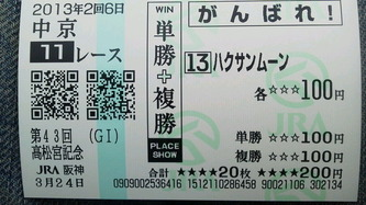 (20130324)高松宮記念