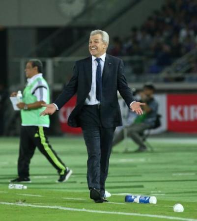 ◆日本代表◆アギーレ監督 ドローにも満足「日本の新しい血が活躍したことはうれしい。私はJリーグを視察し続ける」