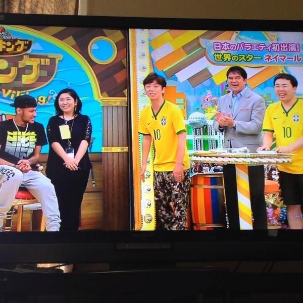 ◆テレビ出演◆ネイマール大忙し!バイキング~スマスマ収録~東京西川記者会見(バイキング動画あり)