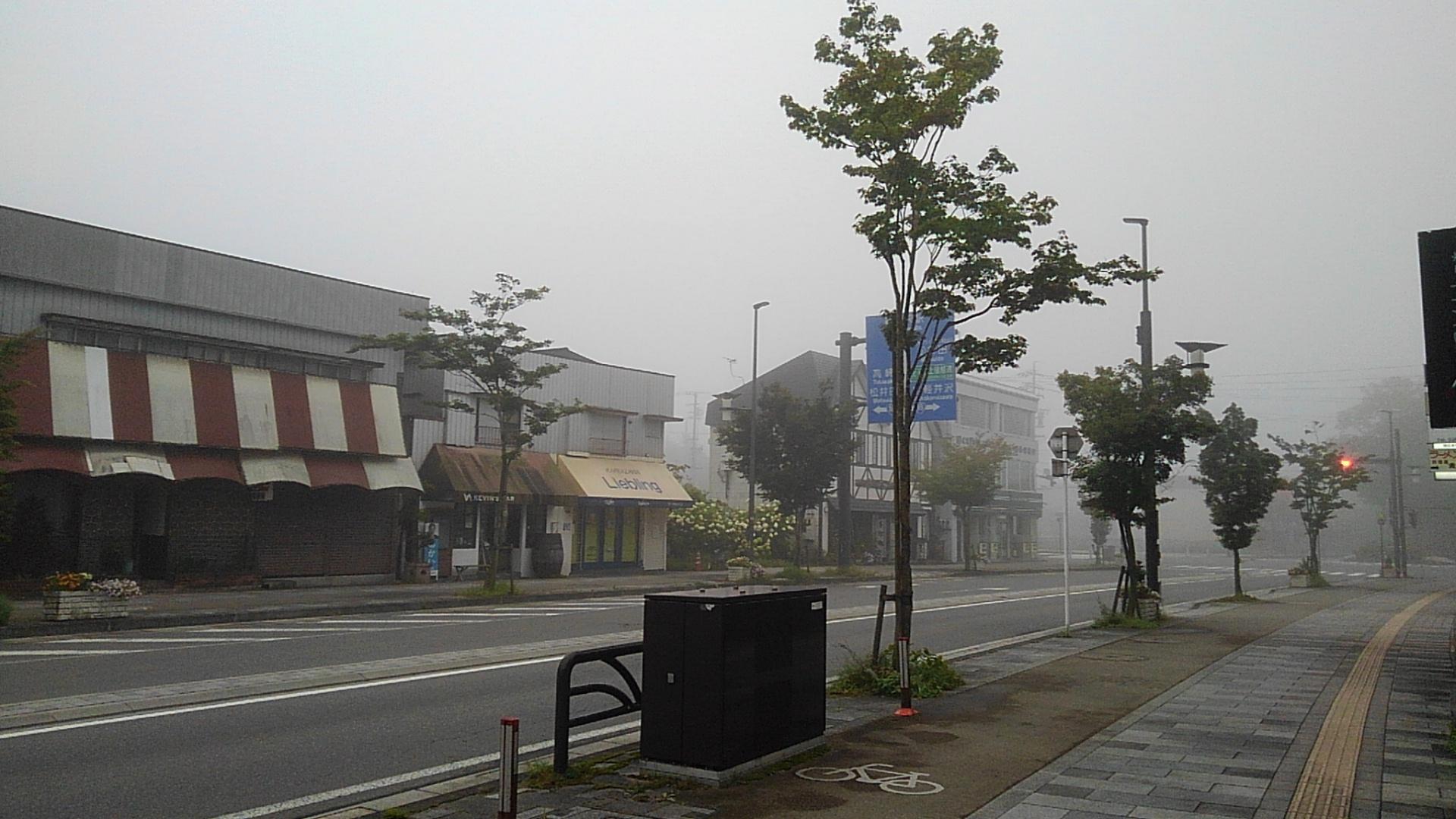 軽井沢 天気 長期
