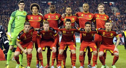 FIFAランク ベルギーが1位!