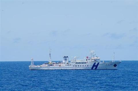 【韓国】日本の抗議「一蹴」=竹島周辺の海洋調査