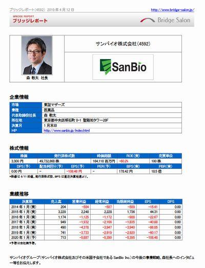 sanbio-report