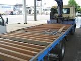 トラック荷台床張替え1