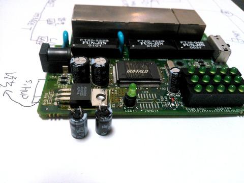 電解コン交換後のLSW10_100-5P基板_0070