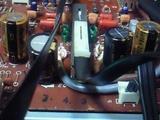 SU-A6メイン基板交換後の電解コン1_090808