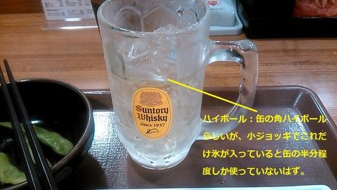 呑みすきセット・ハイボール(小グラス)