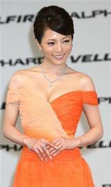 釈由美子(85cmEカップ)が3億6千万円セクシー衣装披露3