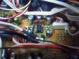BX-150電解コン・OP-AMP交換部分2