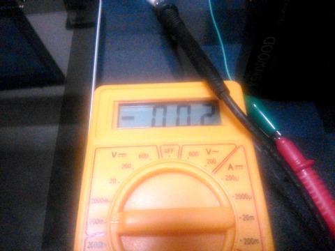 KT-1100D再調整 PLL検波部TP電圧_0065