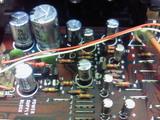YAMAHA T-1電源部電解コン交換後