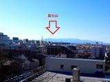 自宅から富士山_0005