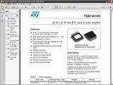TDA7491HV datasheet