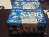 TDK SAカセットテープ 90分 10巻セットx2