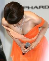 釈由美子(85cmEカップ)が3億6千万円セクシー衣装披露2