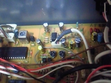 BX-150電解コン・OP-AMP交換部分1