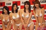 ミスFLASH201黒田有彩,仁藤みさき,斎藤眞利奈,鈴木ふみ奈