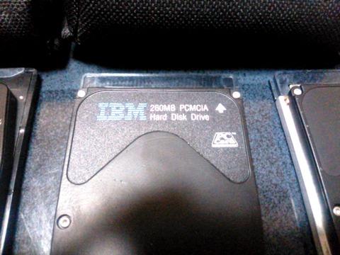 PCMCIA HDD 260MB
