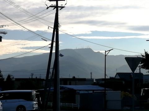 手稲山山頂の送信所_20210821