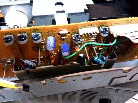 DP-1000 CDメカ制御基板改造箇所_0073