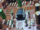 SU-A6シェルビングトーン基板電解コン&OP-AMP交換周り