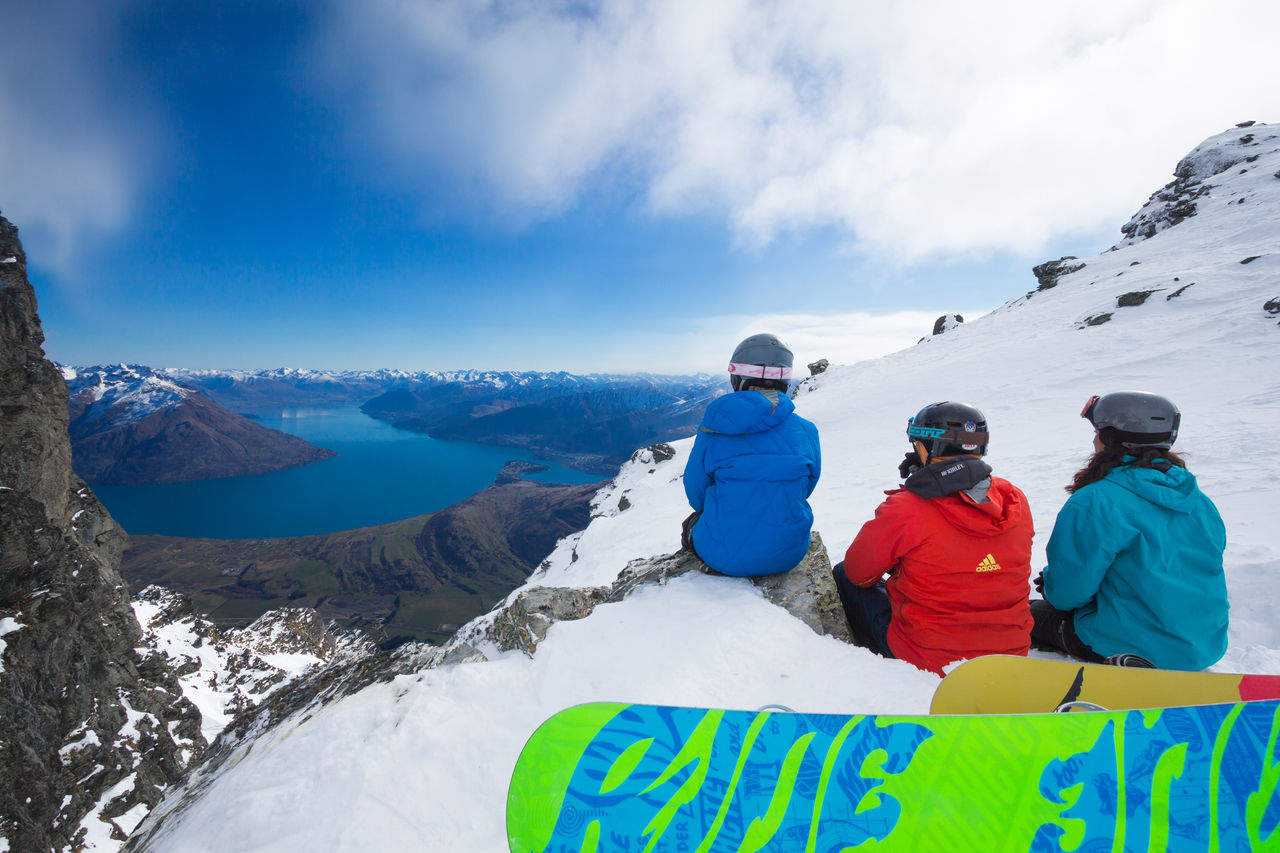 Kiwi Discovery - Ski, Lookout at Remarkables