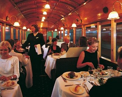 Interior of Restaurant Tram1