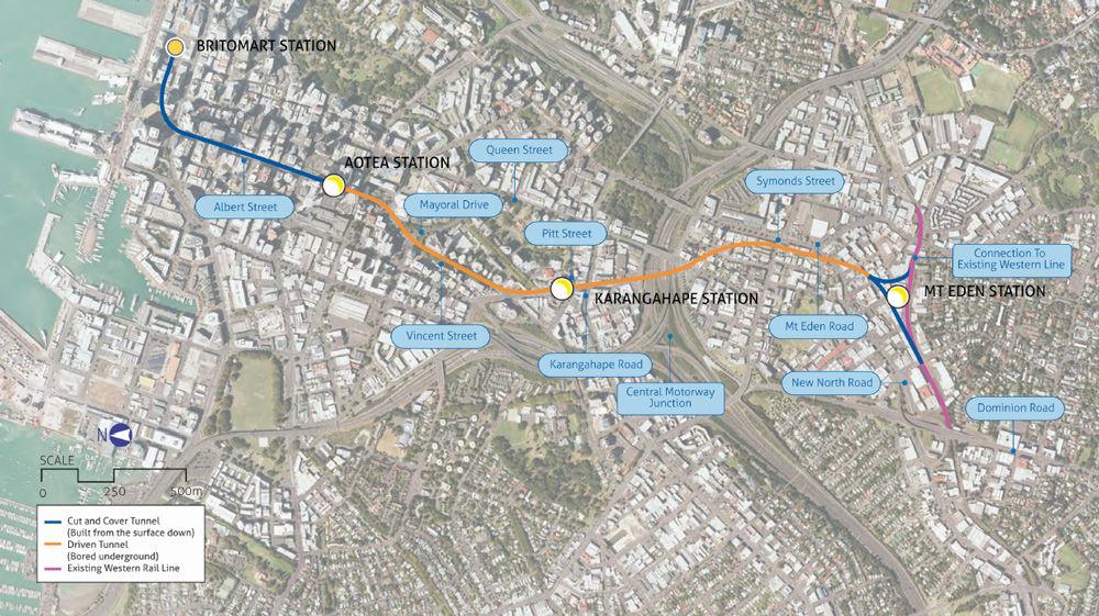 city-rail-link-route