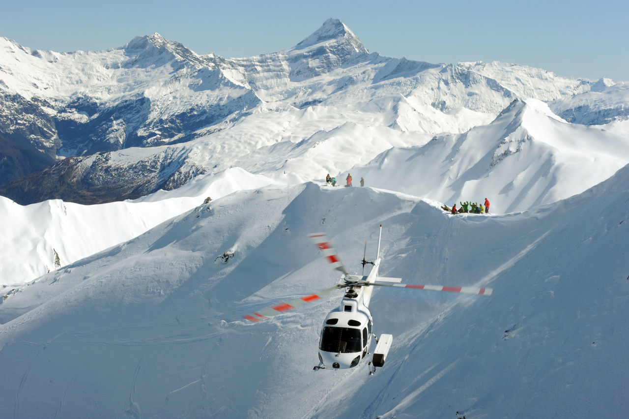heliski alpine chopper