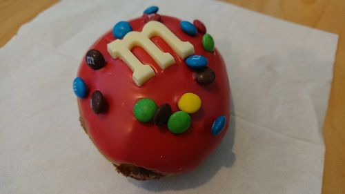 m&ms donuts