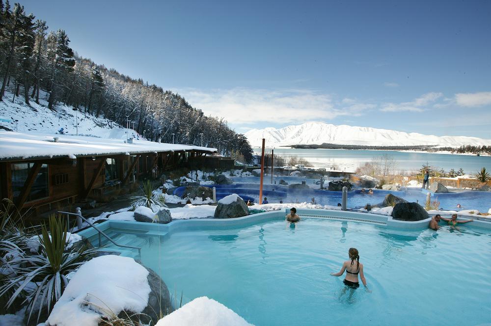Tekapo Springs pool
