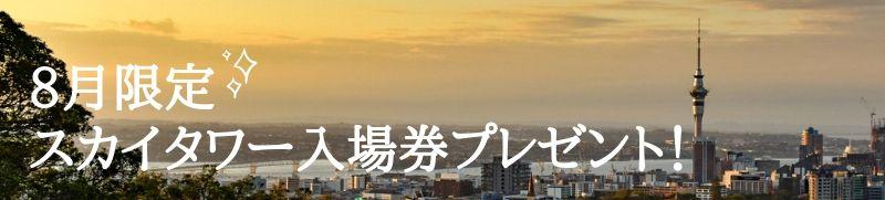 スカイタワー入場プレゼント