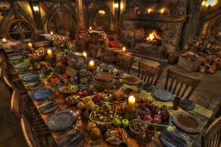 Green Dragon Banquet Close Up