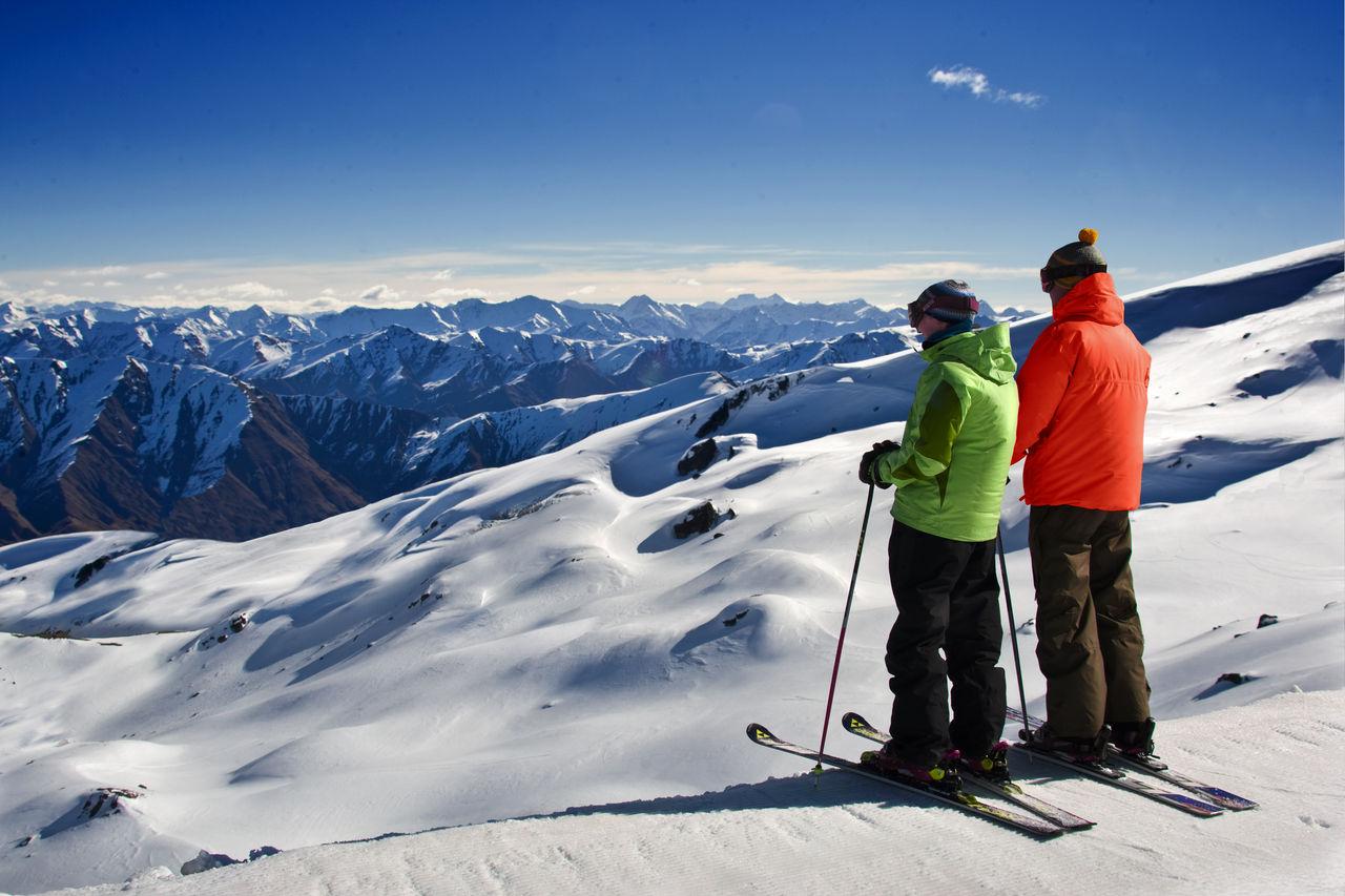 Kiwi Discovery - Ski, Cardrona Views