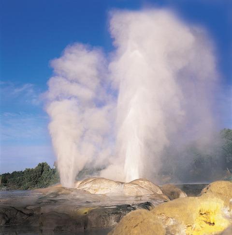 01 Pohutu geyser