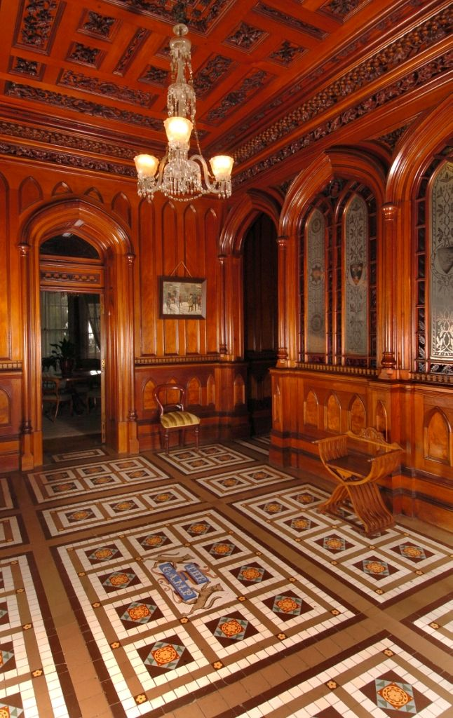 Larnach Castle Foyer 2