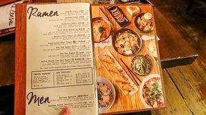 takara ramen menu