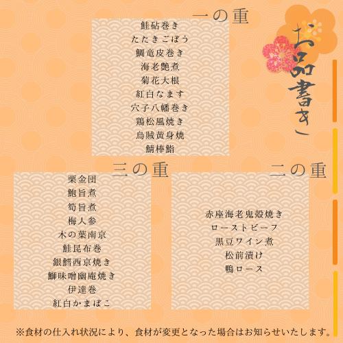 お品書き (1)