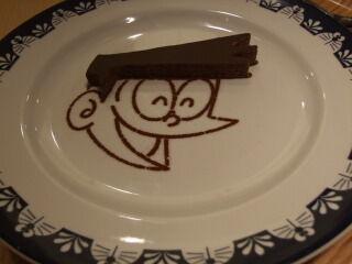 cafe スネオヘアーチョコクレープ