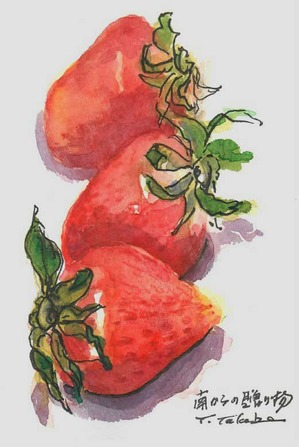 武部さんイチゴの絵2