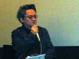 塩田時敏さん(映画評論家)は「姿三四郎」を歌いながら来場!