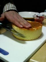 ケーキ作りその2