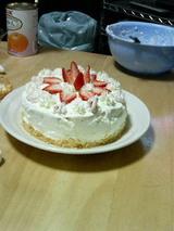 ケーキ作りその4